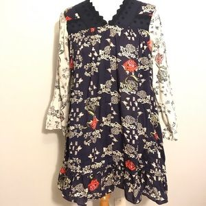 Odd Molly Uncroporated dress size 3